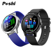 Для мужчин и женщин Смарт-часы IP67 Водонепроницаемый для Android IOS Телефон фитнес-Браслет Модные умные часы леди девушка подарок спортивные часы