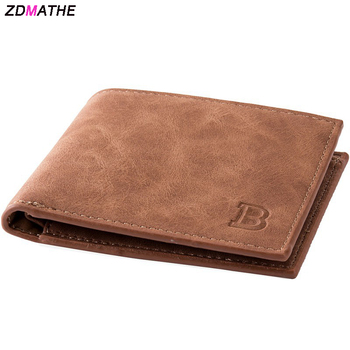 Fashion Wallets for Men Zipper Small Male Money Purses Coin Bag Wallet Card Holder Slim PU Purse Money Wallet US Stock baellerry men purses big wallet men coin purse vintage male zipper clutch bag pu leather wallets long phone bag money wallet