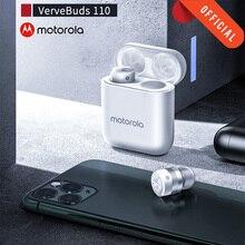 Motorola Vervebuds 110 TWS Bluetooth 5.0 Auricolare Senza Fili di Riduzione Del Rumore Auricolari Mini in ear Chiamata Cuffie Auricolare Touch con