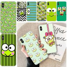 LJHYDFCNB Fashion frog Custom Photo Soft Phone Case For iphone 6 6s plus 7 8 plus X XS XR XS MAX 11 11 pro 11 Pro Max Cover ljhydfcnb wave spray cover soft shell phone case for iphone 6 6s plus 7 8 plus x xs xr xs max 11 11 pro 11 pro max cover