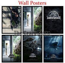 Jurassic World Classic White Kraft Paper Paintings Vintage Wall Posters Stickers Home Decor Gift 42X30cm classic world сортер геометрические блоки classic world