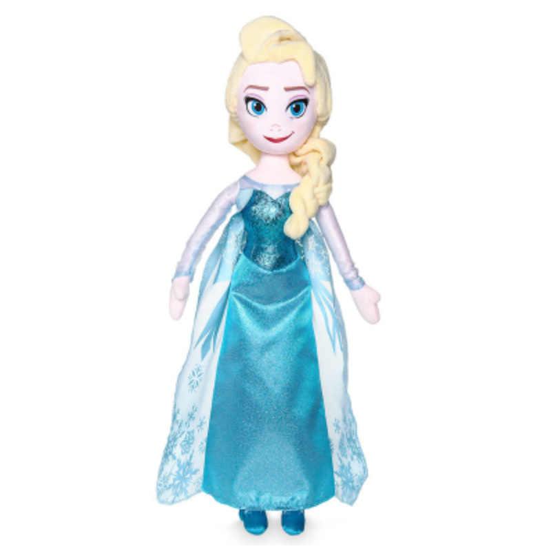 50 センチメートルディズニー冷凍 2 アンナエルザ人形雪の女王プリンセスおもちゃぬいぐるみスヴェンとオラフぬいぐるみ子供の誕生日クリスマスギフト