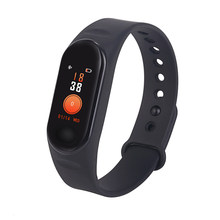 M3 Bluetooth Waterproof Fitness Smart Watch Heart Rate Long Standby Colorful Display Multifunctional Gift Sleep Monitor Sports(China)