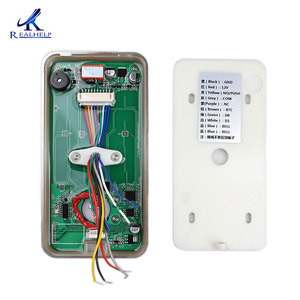 IP65 Открытый контроль доступа отпечатков пальцев биометрический считыватель IC карты 13,56 МГц системы автоматизации ворот бесключевое управл...