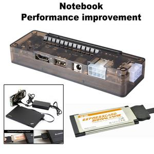 EXP GDC PCI-E Portable External Video Card Dock Graphics Card Laptop Docking Station Mini PCI Expresscard Interface 54/34 Type