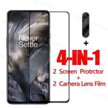 Full Glue Glass For OnePlus Nord Screen Protector For OnePlus Nord Tempered Glass For OnePlus Nord Protective Glass Phone Film oneplus x premium tempered glass screen protector