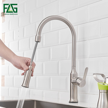 цена на FLG Kitchen Faucets torneira para cozinha de parede Crane For Kitchen Water Filter Tap Three Ways Sink Mixer Kitchen Faucet