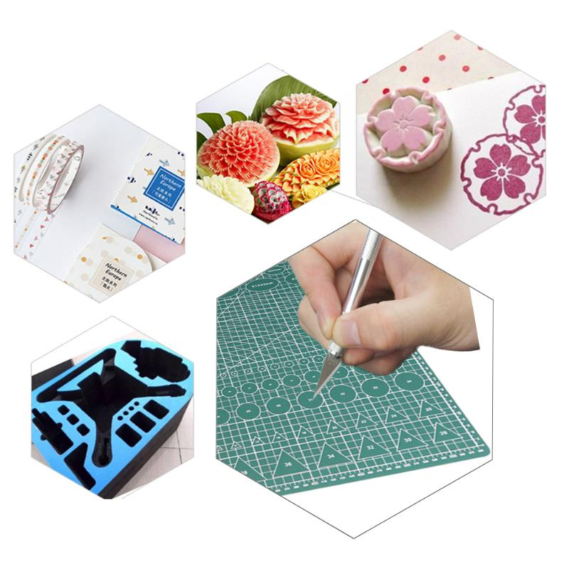 Self Healing Cutting Mat PVC Patchwork Cut Pad Antistatic Handmade Drawing Sewing Antiskid Board Students Families Office Tool