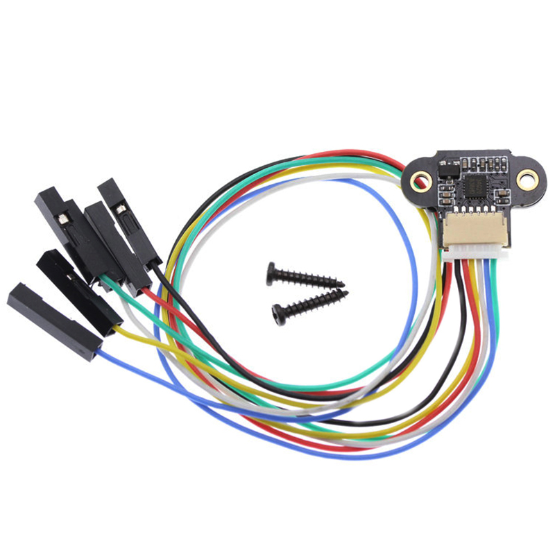 ELEG-Range Sensor Module 10-180Cm Distance Sensor Tof10120 Distance Sensor Uart I2C Output 3-5V Rs232 Interface For Arduino Tof0