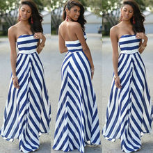 Women Summer Sexy Long Sundress Off Shoulder Maxi Party Slee