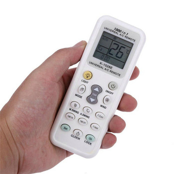 1pcs Universal A/C Remote Control For Air Conditioner HW-1028E LCD Remote Controller 13cm * 5cm * 1.5cm image