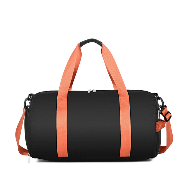 Sullen Unisex Overnighter Duffle Bag Black