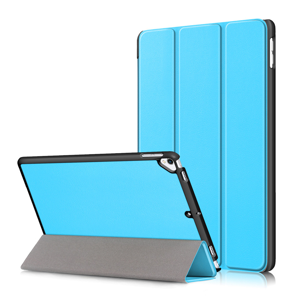 Light Blue MULTI Case For iPad 10 2 2019 7th Generation A2200 A2198 A2232 Smart Cover Funda Magnetic Folding