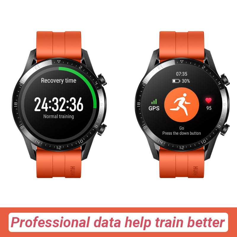 In Stock Original HUAWEI Watch GT 2 GT2 GPS 14 Days Working Phone Smart Call Blood Oxygen  Heart Rate Tracker For Android iOS-4