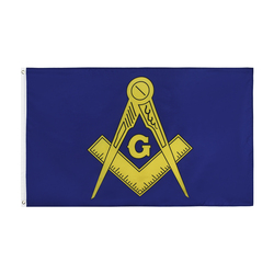 Johnin 3x5 fts wolna masoneria Mason Lodge masońska flaga