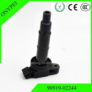 Image 4 - 90919 02244 90919 02244 Ignition Coil For Toyota Camry Highlander RAV4 Scion tC xB Lexus 2.4 90919 02266 90919 02243 UF333 C1330