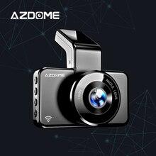 AZDOME M17 Dash Cam Full HD 1080P Video Recorder 170 Degree Wide Angle Dashcam Night Vision Car DVR 24H Parking Car Camera