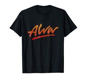 Alva рубашка для катания на коньках-Мужская Футболка-черный
