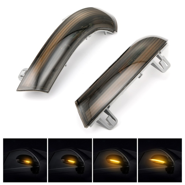 2x Side Mirror indicator Dynamic Blinker LED Turn Signal Light For VW Passat B6 GOLF 5 Jetta MK5 Passat B5.5 GTI V Sharan
