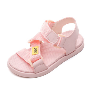 2020 New Fashion Leather Webbing Baby Toddler Shoes Princess Sandals Childrens Girls Boys Kids Beach Shoes 1 2 3 4 5 6 Years(China)