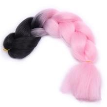 Long Ombre Jumbo Synthetic Braiding Hair
