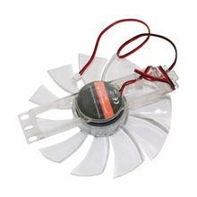 Ventilateur sans balais, 12V DC, 0,35 a, 11 feuilles, en plastique Transparent, couleur, accessoires pour incubateur de poulet, 1 pièce
