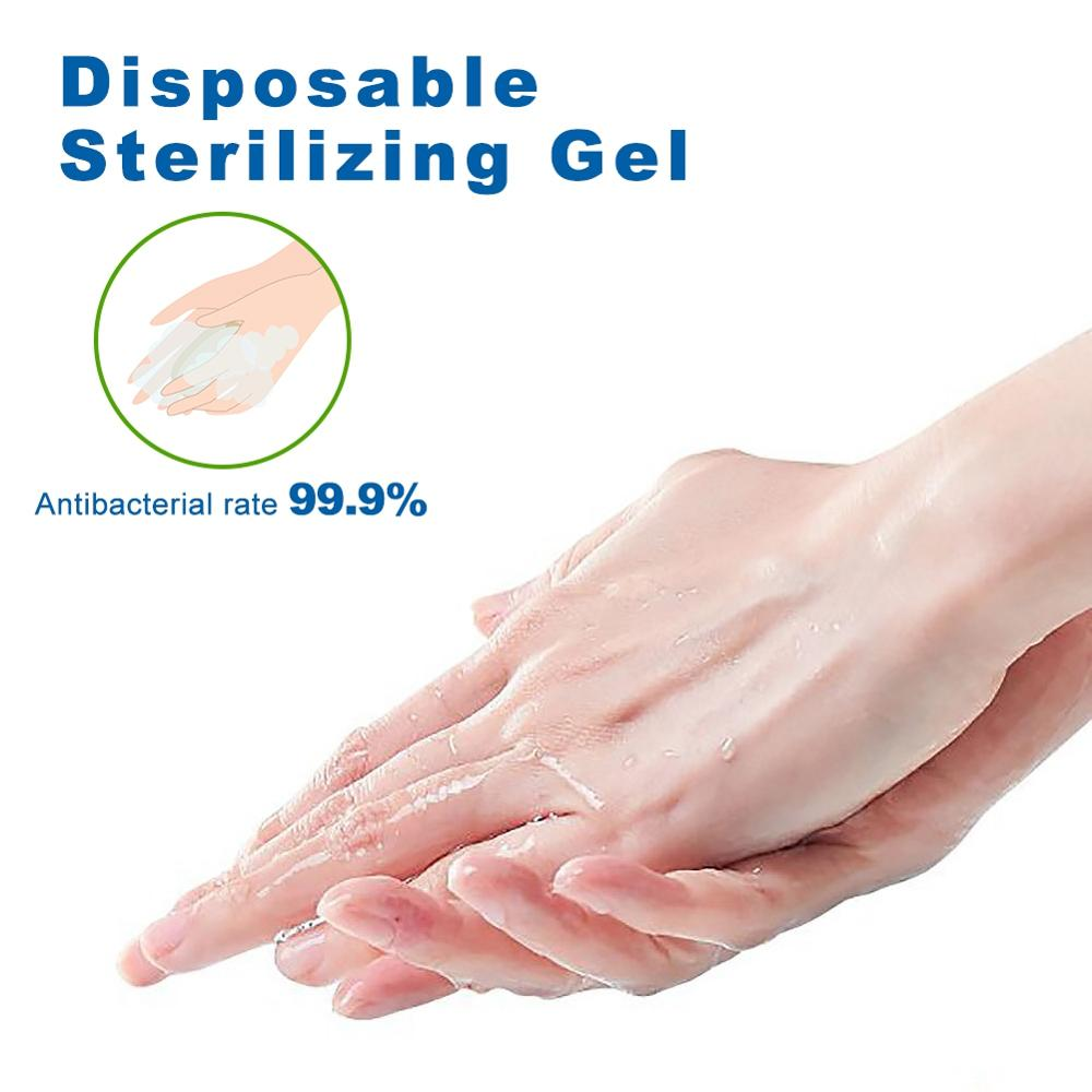 No Clean Waterless Gel Hand Sanitizer Anti-bacteria Moisturizing Travel Portable 24 Hour Defense Cleaner for Kids 50ml 1