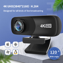 C160 c160 hd webcam com microfone câmera web para computador 4k usb webcam completo hd 800w pixels