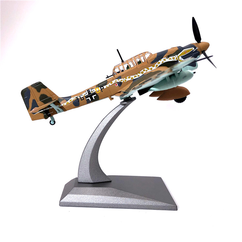 1:72 Junkers JU-87 Bomber Fighter Aircraft Plane Model Airplane Alloy Model Diecast 1:72 Metal Planes