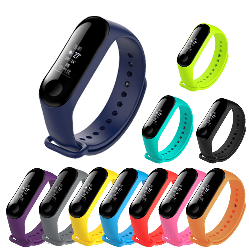 Smart Strap For The Xiaomi Mi Band 4 Replacement Wrist Strap, For The Xiaomi Mi Band 3 Multicolor Replacement Bracelet  Strap