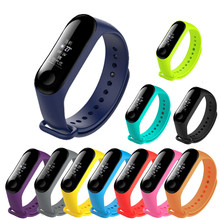 Smart strap for the Xiaomi mi band 4 replacement wrist strap, for the Xiaomi mi band 3 multicolor replacement bracelet strap(China)
