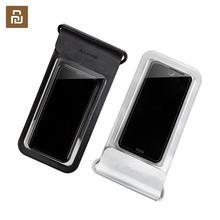 Youpin Guildford 6 inç IP67 su geçirmez cep telefonu kılıfı tutucu Smartphone çantası dokunmatik ekran iphone 6 6S 7 8 artı