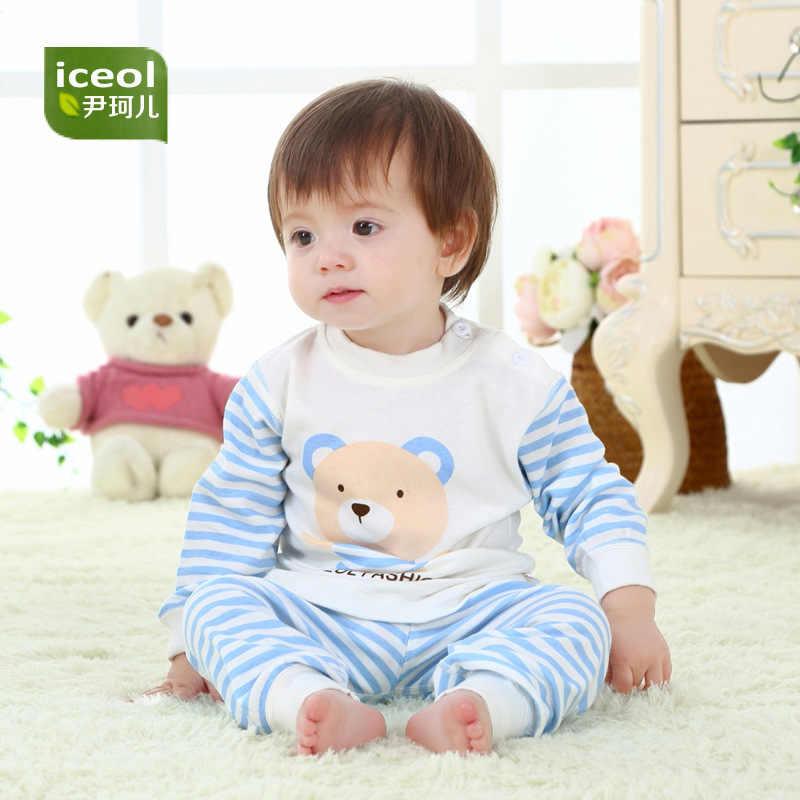 Ropa interior de bebé de algodón puro de primavera y otoño ropa interior para niños ropa de dormir de algodón de 0-1-2 años de edad ropa de bebé