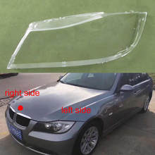 For 2004 2005 2006 2007 2008 BMW BMW 3 Series E90 318 320i 325i 330i Front Headlight Lampshade Halogen Headlight Lampshade Cover