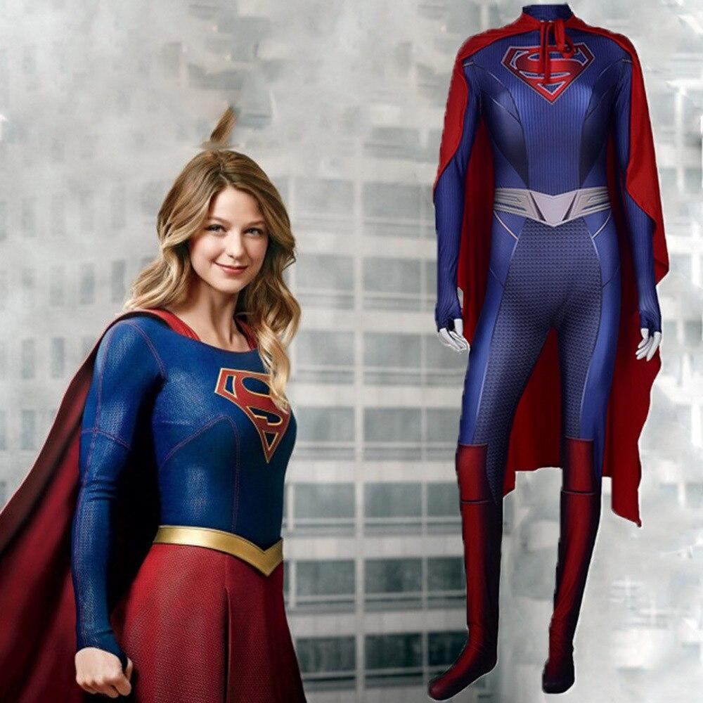 Superhero Costume Full Set Captain Zentai Masquerade Cosplay Bodysuit with Cloak