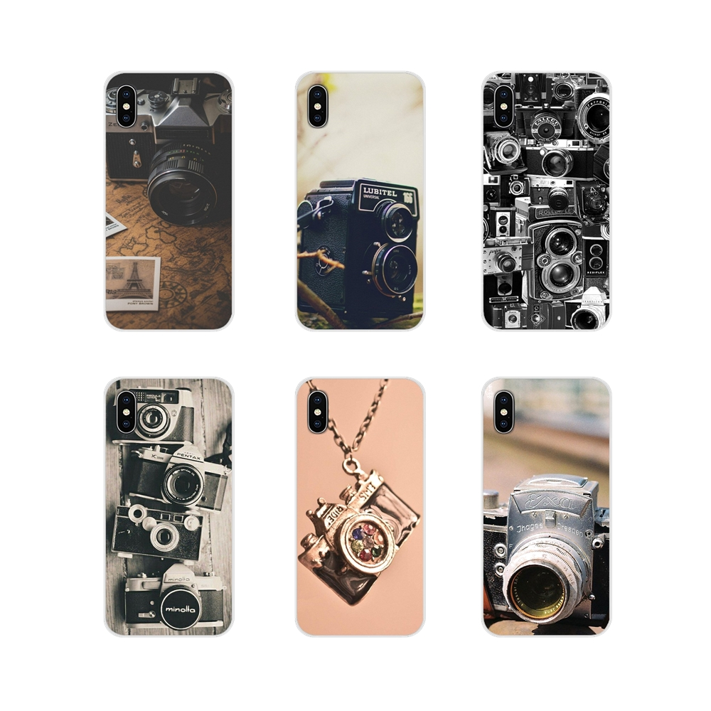 Accessories Phone Shell <font><b>Covers</b></font> Old style Vintage <font><b>Camera</b></font> For Huawei Mate <font><b>Honor</b></font> 4C 5C 5X 6X 7 7A 7C 8 <font><b>9</b></font> 10 8C 8X 20 <font><b>Lite</b></font> Pro image