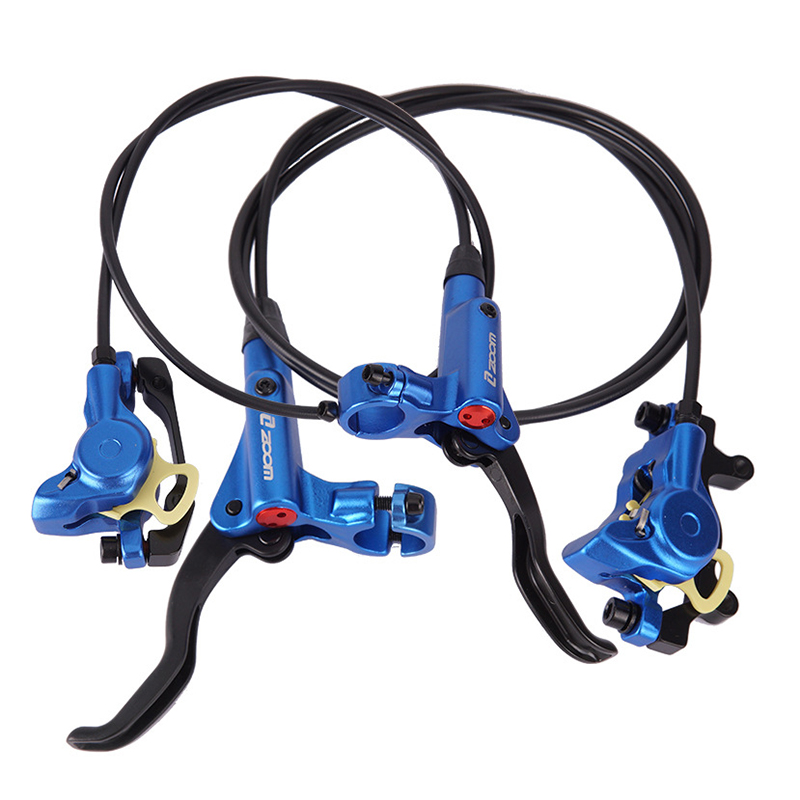 Blue MTB Mountain Bike Bicycle Hydraulic Disc Brakes Calipers Front Rear set