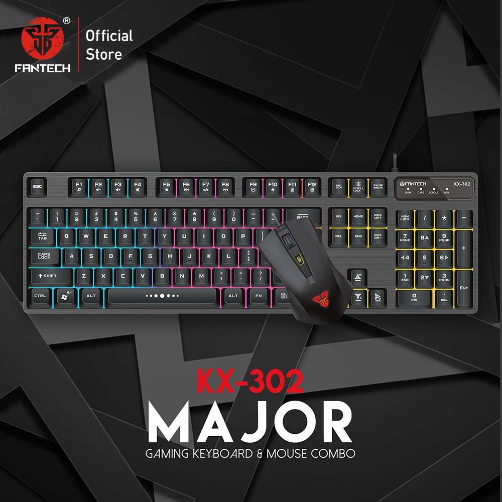 Fantech KX302 Major RGB Gaming Keyboard Mouse Combo 5
