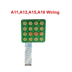 Image 4 - RichAuto A11 A12 A15 A18 DSP CNC controller parts key film button shell and display