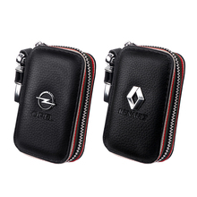 Wallet Key-Case Car-Accessories Opel JEEP Genuine-Cow-Leather Renault Bag-Organizer