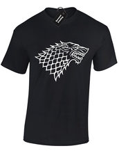 DIREWOLF MENS T SHIRT GAME OF NOTTI OROLOGIO DA NEVE THRONES JON TYRION TOP S-5XL(China)