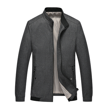 2019 new thin autumn jacket loose jacket men's middle-aged men's jacket JG 9049