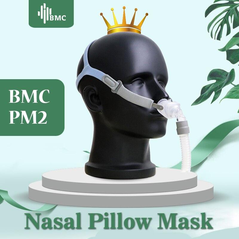 BMC P2 Travesseiros Máscara Máscara de Dormir de Luz para CPAP Nasal Médica Máquinas Comprar Um Obter S/M/L três Tamanho Almofadas