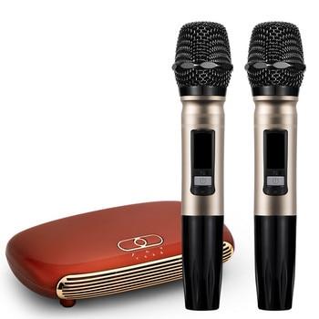 Handheld Wireless Karaoke Microphone Karaoke player Home Karaoke Echo Mixer System Digital Sound Audio Mixer Singing Machine K12 k2 wireless mini family home karaoke echo system handheld singing machine box microphone karaoke player