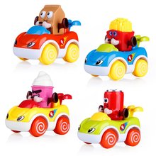Early Educational Development Cars for Kids Toddler Friction Powered Vehicles Baby Pull Back Car Toys for 1 2 3 Years Old baby