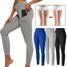 Pencil-Pants Legging Seamless Butt-Lifting Perfect Women Mid-Waist Push-Up Workout