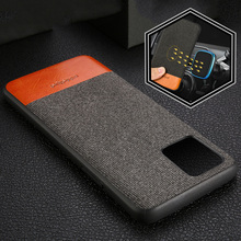 Men business Fabric Magnetic case for iphone 11 pro max shockproof Car Holder cover 6.5 canvas coque