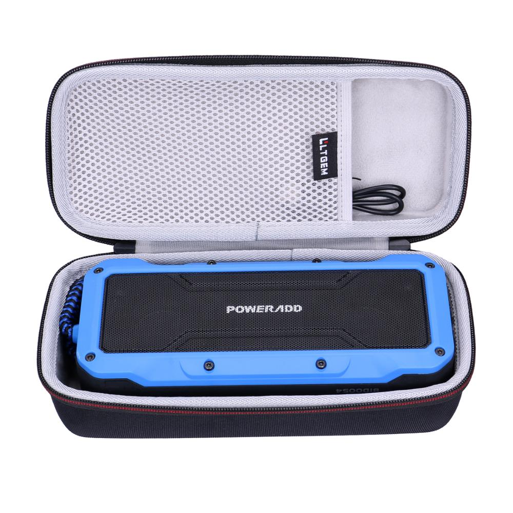 LTGEM EVA Carrying Hard Case For Poweradd MusicFly Indoor/Outdoor Portable Wireless Bluetooth Speakers