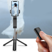 2019 Hot Bluetooth Selfie Stick Tripod Compatible with All Smartphones Wireless Remote Extendable Stand For DOY
