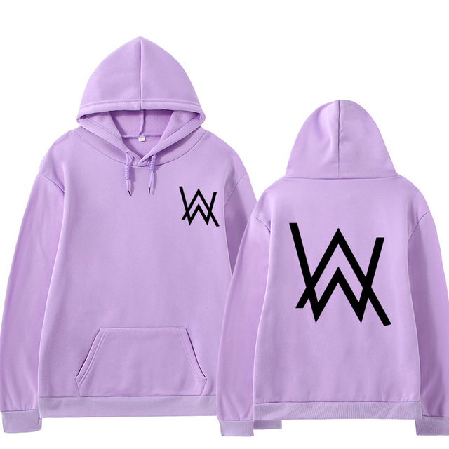 2021 Fall/Winter Alan Walker Hoodie Couple Loose Large Size Wild Casual Men and Women Pullover 3